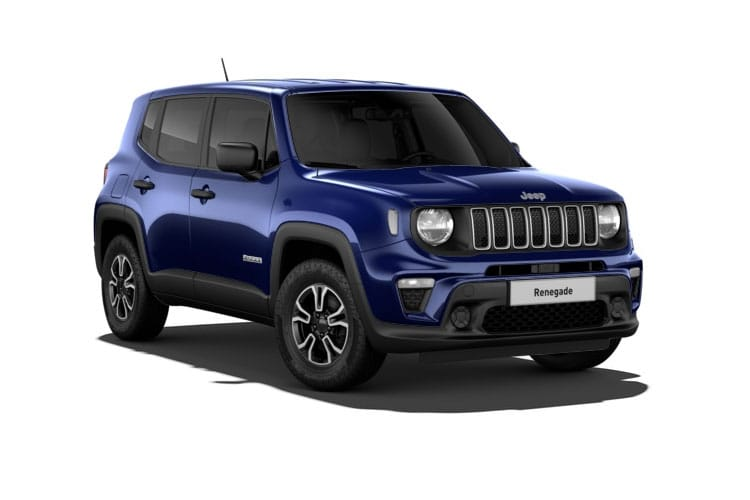 Front view of Jeep Renegade 1.3 T4 Gse 150hp S Ddct