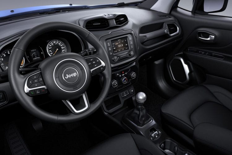 Inside view of Jeep Renegade 1.3 T4 Gse 150hp S Ddct