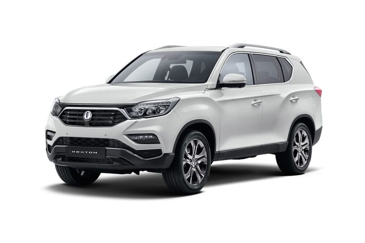 Front view of Ssangyong Rexton Commercial 2.2 Cse 4X4