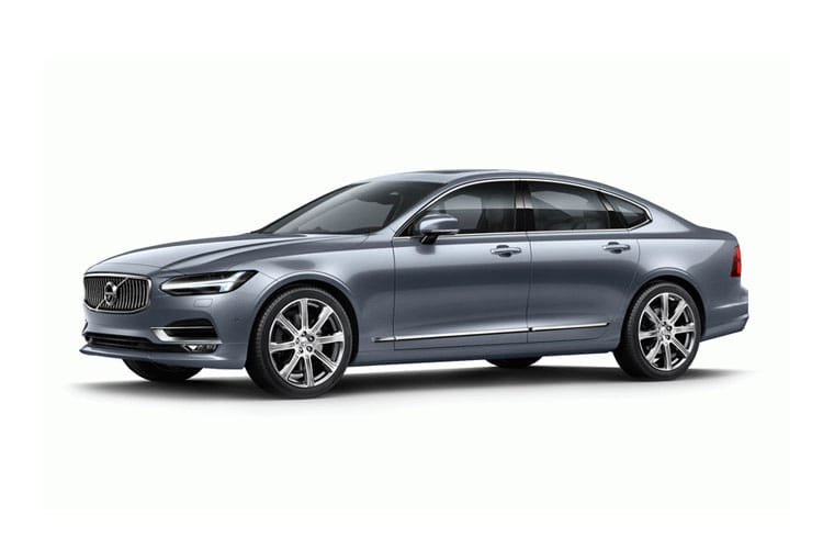 Front view of Volvo S90 2.0 T8 390HP Phev R-Design Auto AWD (MY2021)