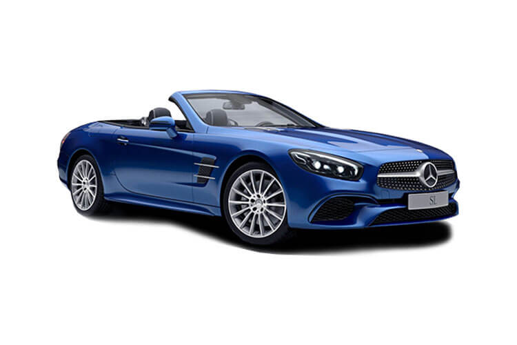 Front view of Mercedes SL400 Roadster 3.0 367 Grand Edition 9G-TRONIC+
