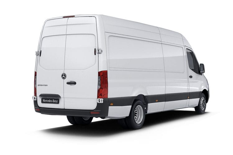 Back view of Mercedes 314CDI Sprinter Van 3.5t L3H2 Premium 7G-Tronic RWD