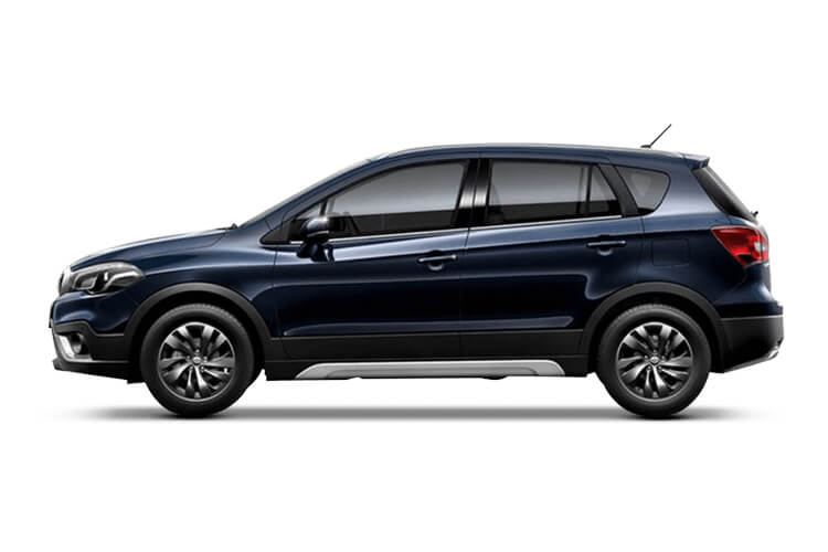 Back view of Suzuki SX4 S-Cross 1.4 48V Bostjet Hybrid SZ5 Algp