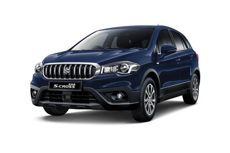 Front view of Suzuki SX4 S-Cross 1.4 48V Bostjet Hybrid SZ5 Algp