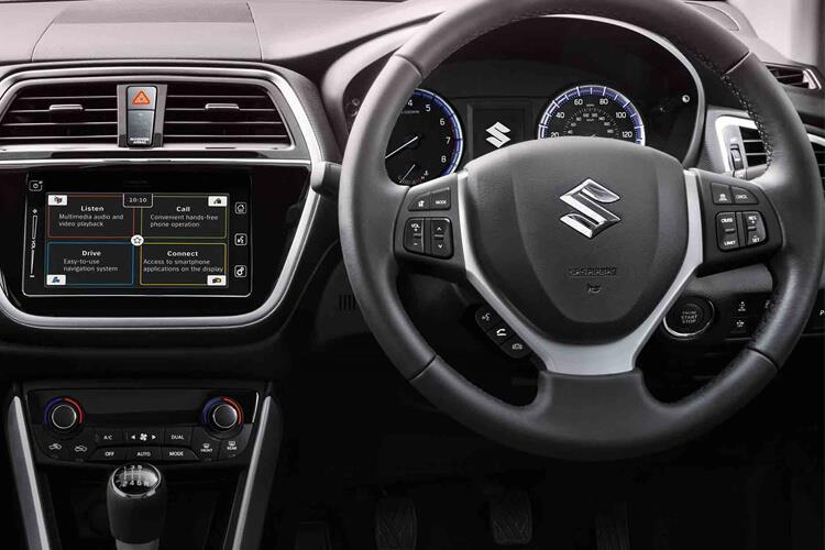 Inside view of Suzuki SX4 S-Cross 1.4 48V Bostjet Hybrid SZ5 Algp