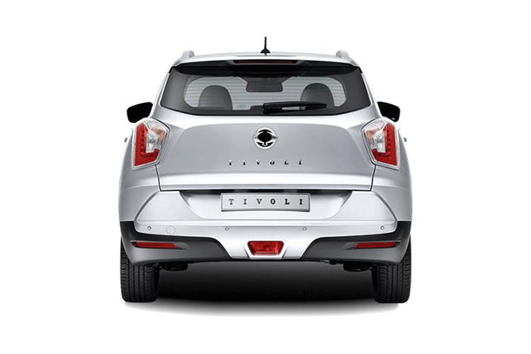 Back view of Ssangyong Tivoli 5 Door Hatch 1.2 EX