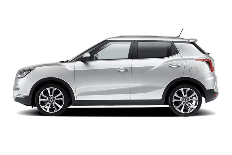 Detail view of Ssangyong Tivoli 5 Door Hatch 1.2 EX