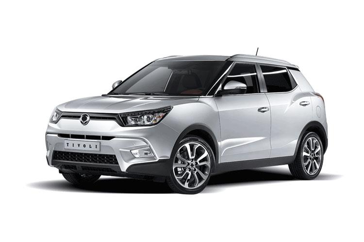 Front view of Ssangyong Tivoli 5 Door Hatch 1.2 EX