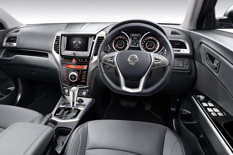 Inside view of Ssangyong Tivoli 5 Door Hatch 1.2 EX