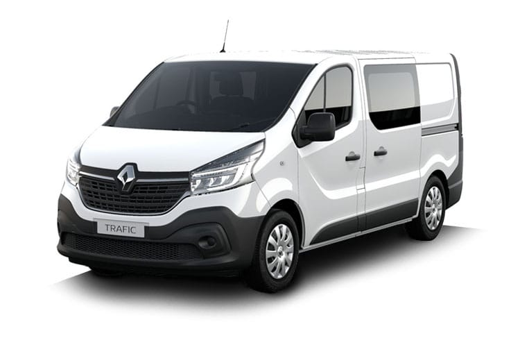 Front view of Renault Trafic Crew Van LL30dCi Energy 120 Business