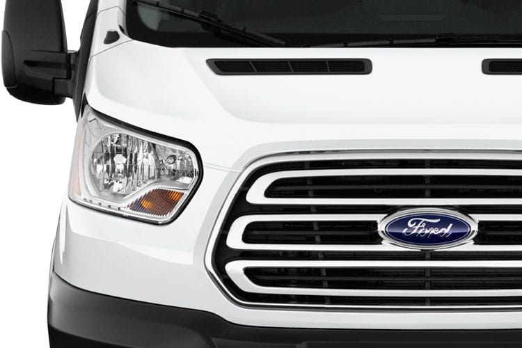 Detail view of Ford Transit 350 L3 Chassis Double Cab Premium Dropside 2.0TDCi AWD