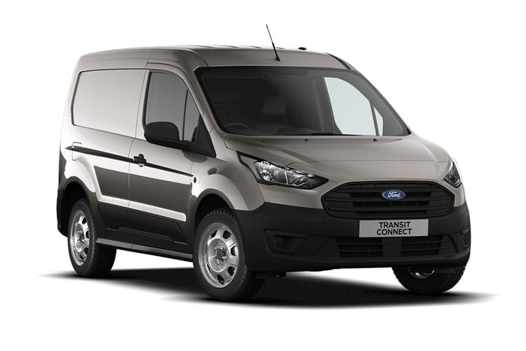 Front view of Ford Transit Connect 210 L2 1.5TDCi EcoBlue 100 Leader (MY2021.01)
