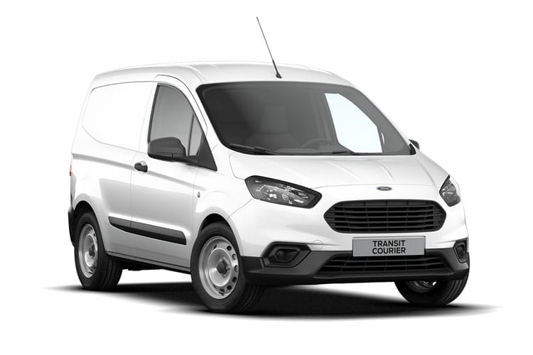 Front view of Ford Transit Courier 1.5TDCi 75 Trend 6speed