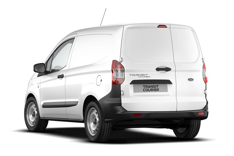 Back view of Ford Transit Courier 1.5TDCi Leader 6speed