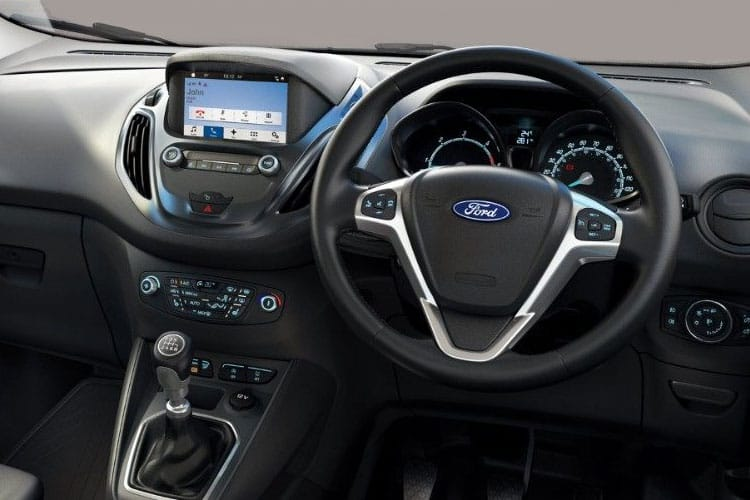 Inside view of Ford Transit Courier 1.5TDCi Leader 6speed