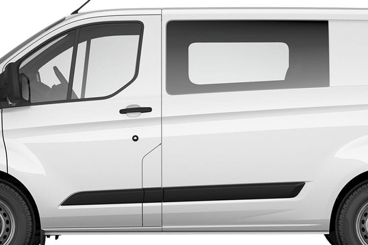 Detail view of Ford Transit Custom 300L2 Double Cab In Van 2.0TDCi 130 Trl