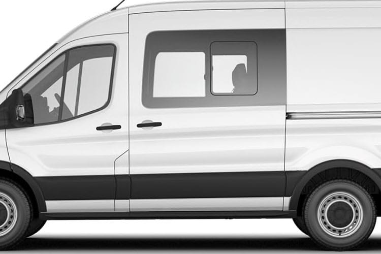 Detail view of Ford Transit 350L3H2 Double Cab In Van 2.0TDCi 130 Leader AWD