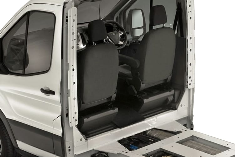 Detail view of Ford Transit 350 L5 Lfl/Lt 2.0TDCi 130 Skeletal Auto