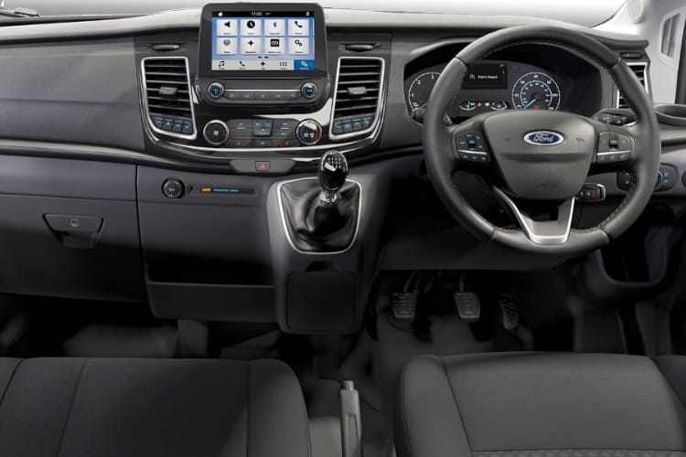 Inside view of Ford Transit 350 L5 Lfl/Lt 2.0TDCi 130 Skeletal Auto