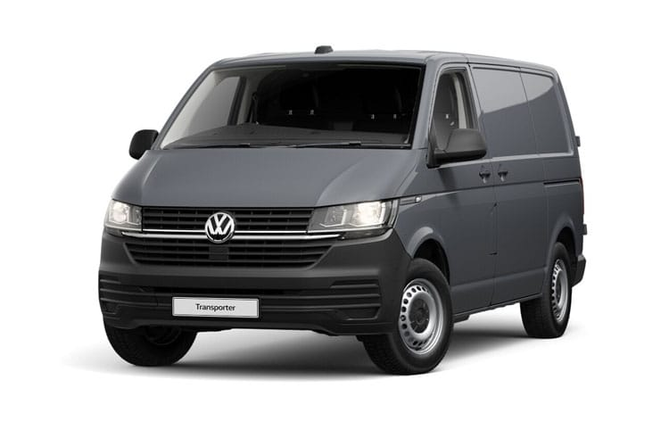 Front view of Volkswagen Transporter Van T32 SWB 2.0 TDI 110ps Startline Business