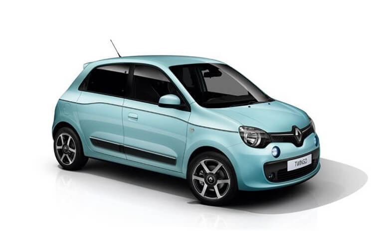 Front view of Renault Twingo 5 Door Hatch 1.0 SCe 70hp Play
