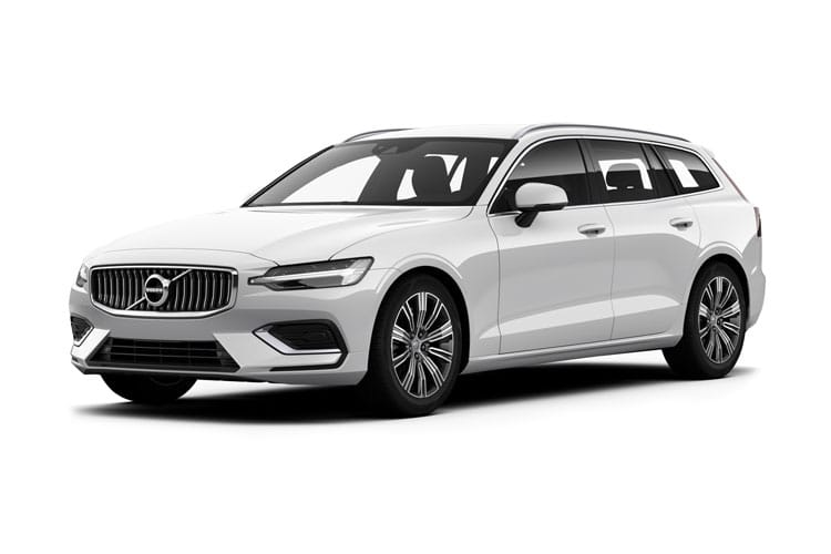 Front view of Volvo V60 Estate 2.0 B3 163HP Momentum Auto Start+Stop (MY2021)