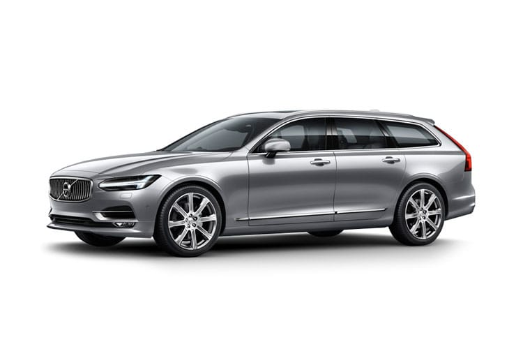 Front view of Volvo V90 2.0 B4 D 197hp Momentum (MY2021)