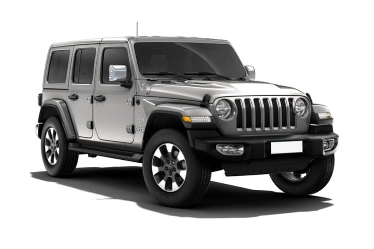 Front view of Jeep Wrangler 4 Door 2.2 200hp Multijet II Rubicon