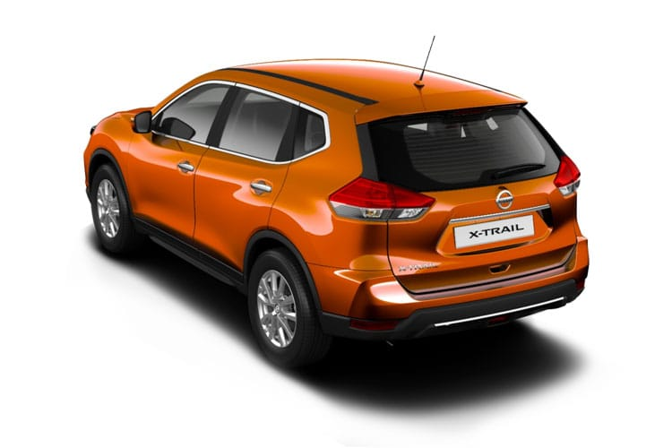 Back view of Nissan X-Trail 1.3 Dig-T N-Design 7Seat DCT