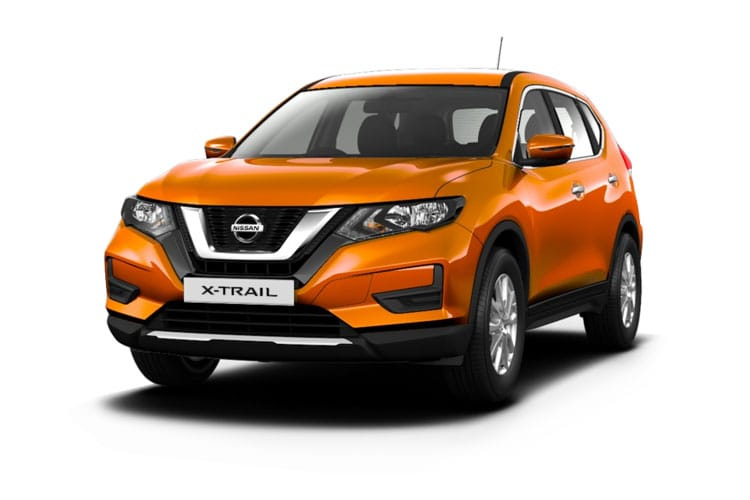 Front view of Nissan X-Trail 1.3 Dig-T N-Design 7Seat DCT