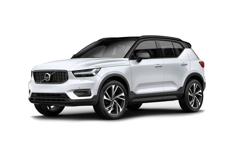 Front view of Volvo XC40 1.5 T3 163hp Momentum FWD (MY2021)