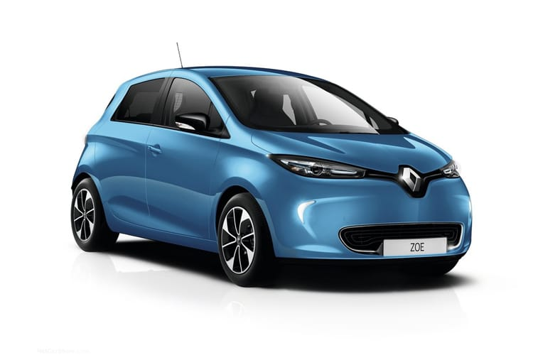 Front view of Renault Zoe Hatch R135 i GT Line ZE 50kWh Rpdchg Auto (MY2020)