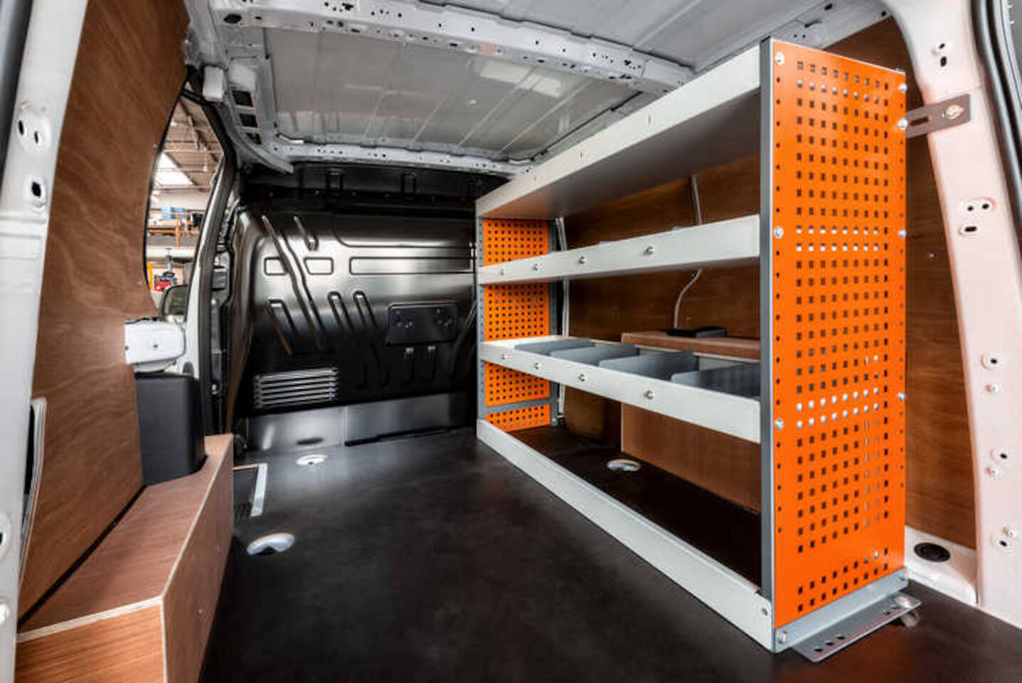 Commercial Vehicle Racking and Shelving