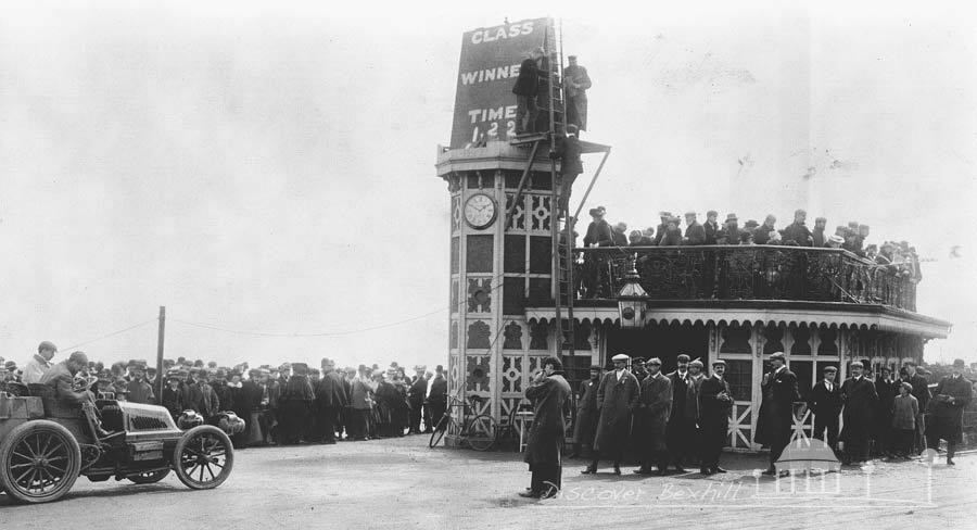A timed race in Bexhill in 1902