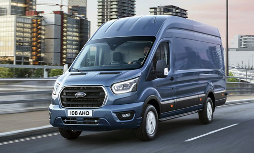 Top selling vans - Ford Transit