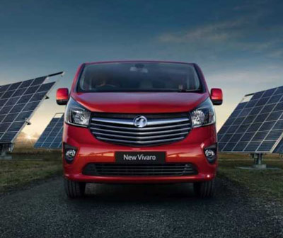 the new Vauxhall Vivaro commercial van